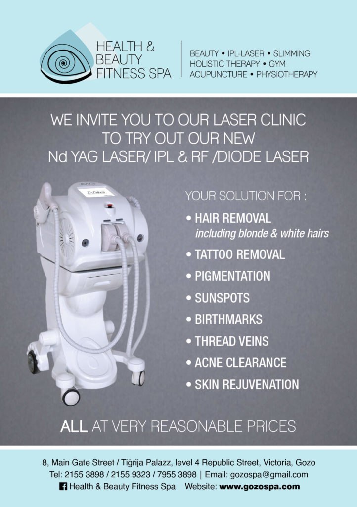 IPL laser Diode Laser Clinic Gozo